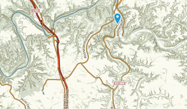 Richmond, Kentucky Map