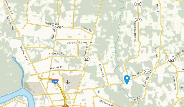 Baker, Louisiana Map