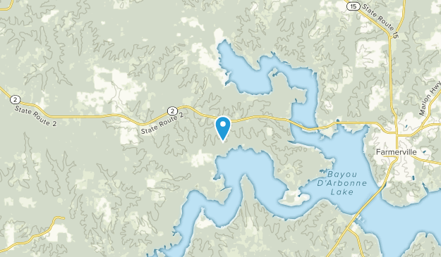 Bernice, Louisiana Map