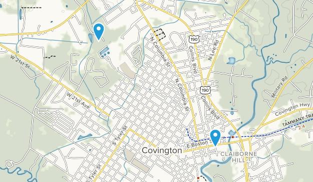 Covington, Louisiana Map