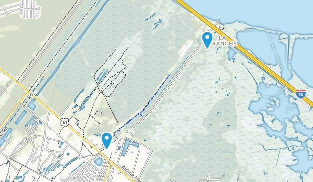 Laplace, Louisiana Map