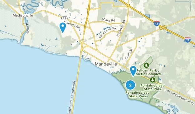 Mandeville, Louisiana Map