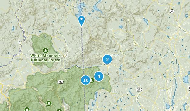 Map Of Trails Near Bethel Maine Alltrails