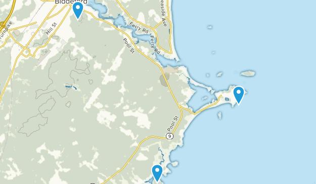 Biddeford, Maine Map