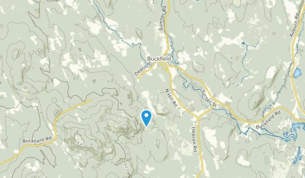 Buckfield, Maine Map