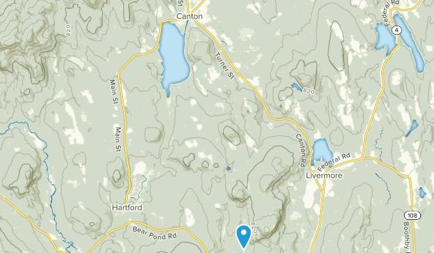 Canton, Maine Map