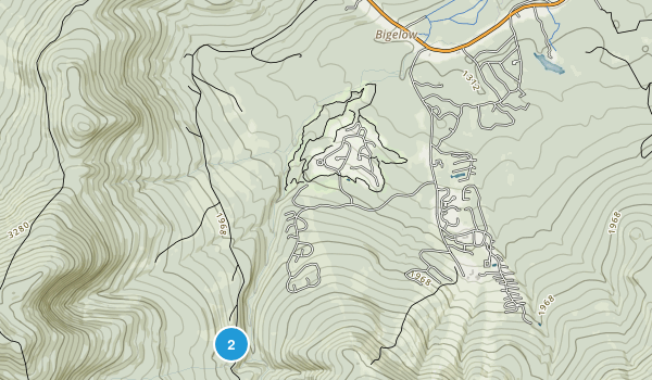 Carrabassett Valley, Maine Map