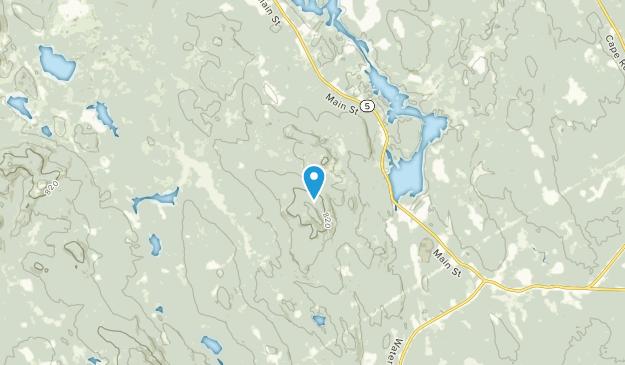 East Waterboro, Maine Map
