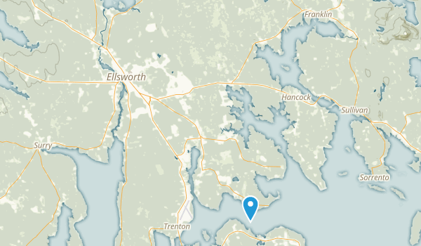 Ellsworth, Maine Map