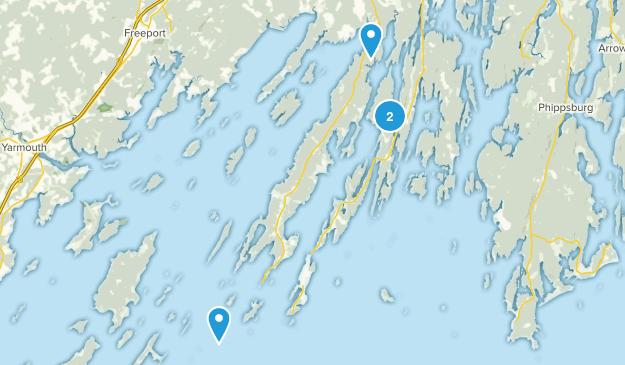 Harpswell, Maine Map