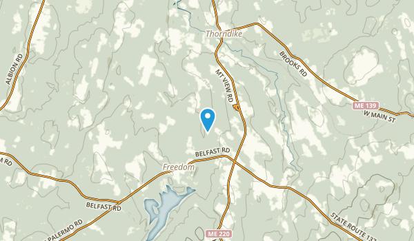 Knox, Maine Map