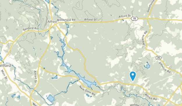 Lyman, Maine Map