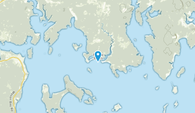 Machias, Maine Map