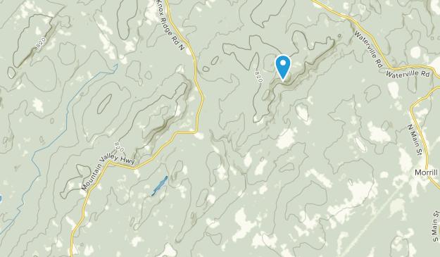 Montville, Maine Map