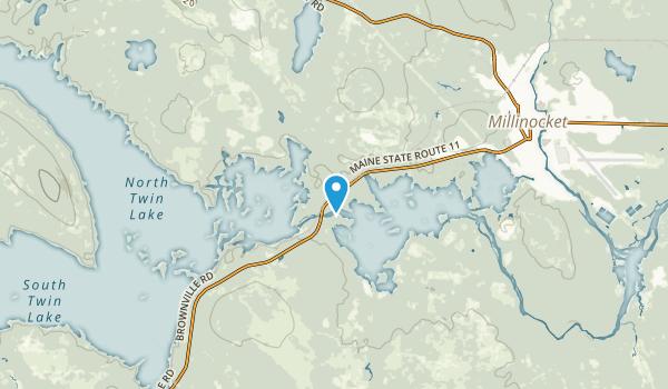 North Penobscot, Maine Map