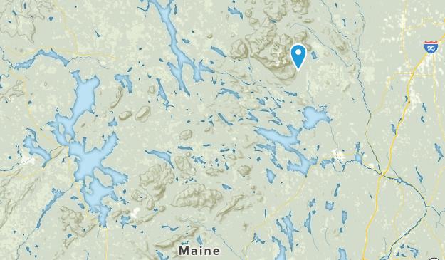 Northeast Piscataquis, Maine Map