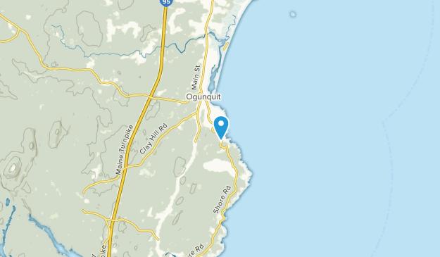 Ogunquit, Maine Map