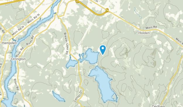 Orrington, Maine Map