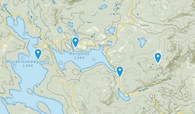 Rangeley, Maine Map