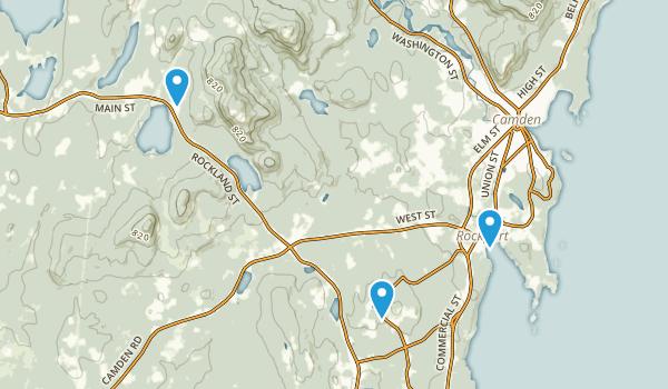 Rockport, Maine Map