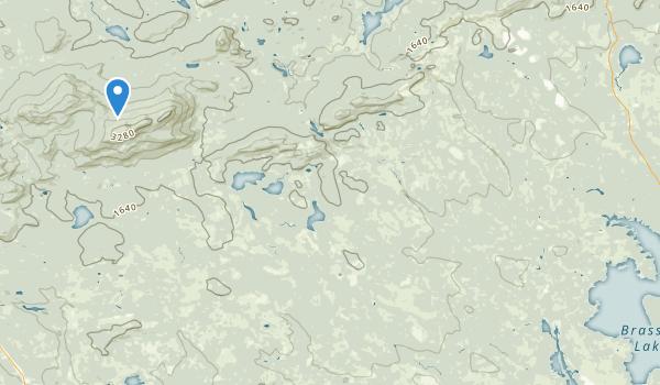 Rockwood, Maine Map