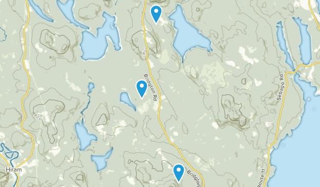 Hiram Maine Map.Best Trails Near Sebago Maine Alltrails