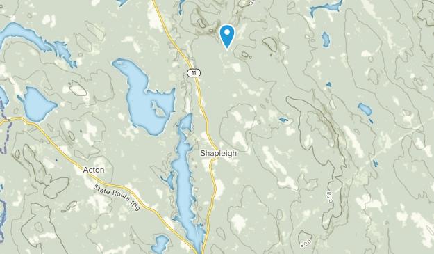 Shapleigh, Maine Map