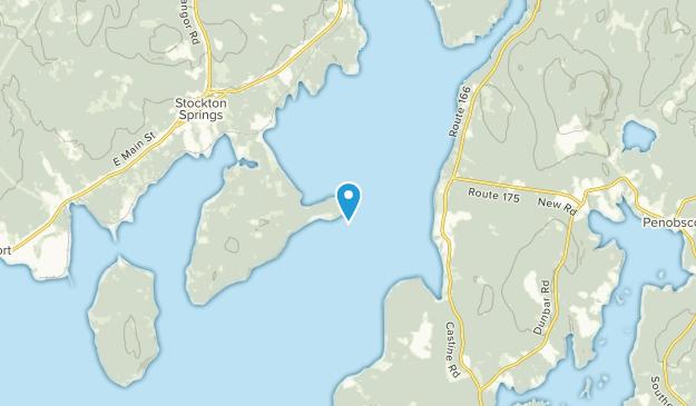 Stockton Springs, Maine Map