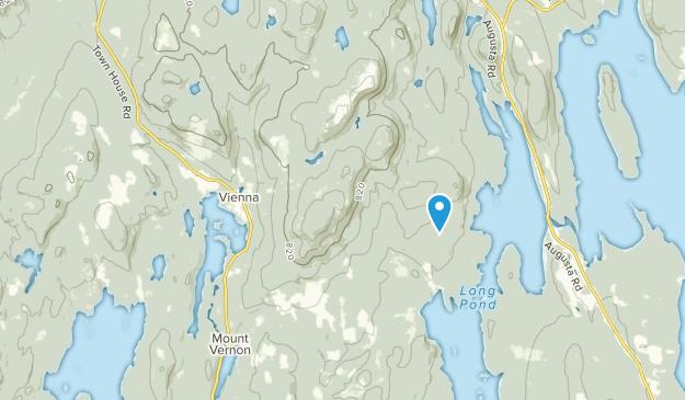 Vienna, Maine Map