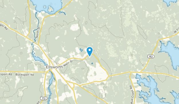 Washington Junction, Maine Map