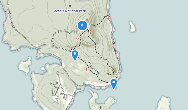 Best Trails Near Winter Harbor Maine  AllTrails