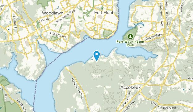 Accokeek, Maryland Map