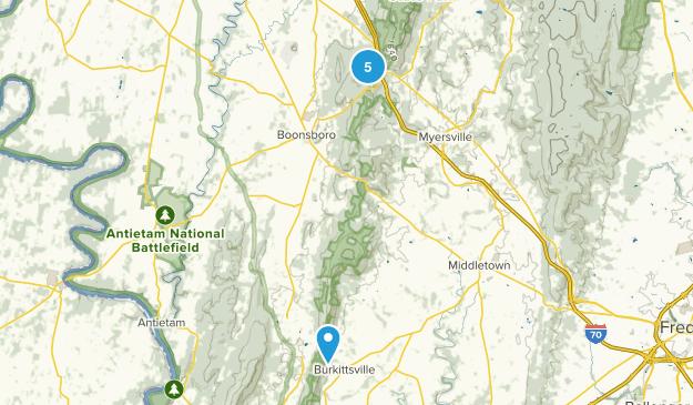 Boonsboro, Maryland Map