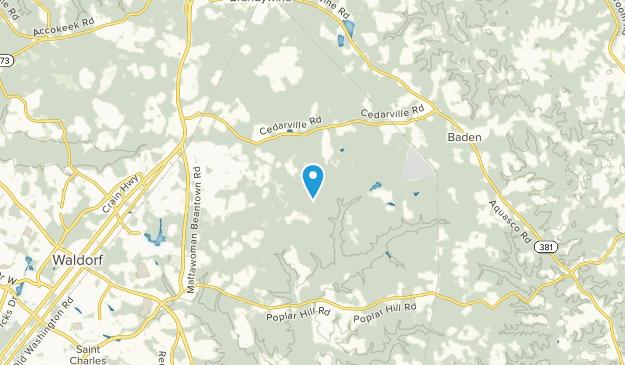 Brandywine, Maryland Map