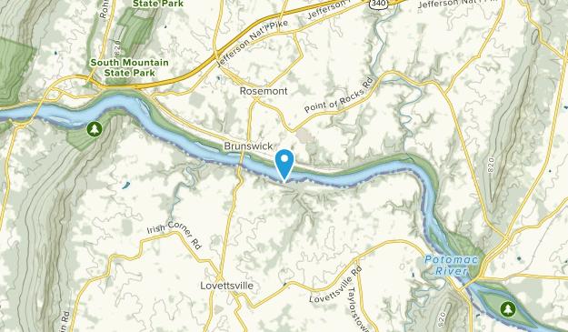 Brunswick, Maryland Map