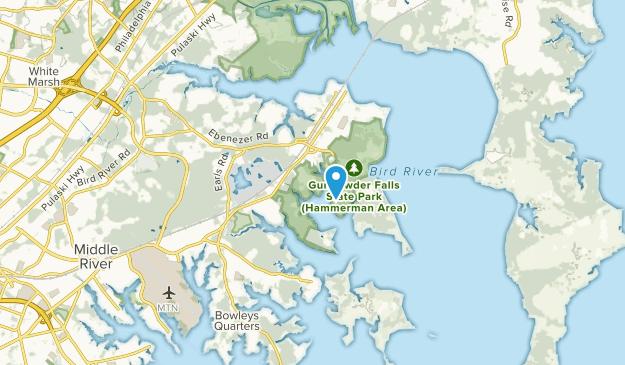 Chase, Maryland Map