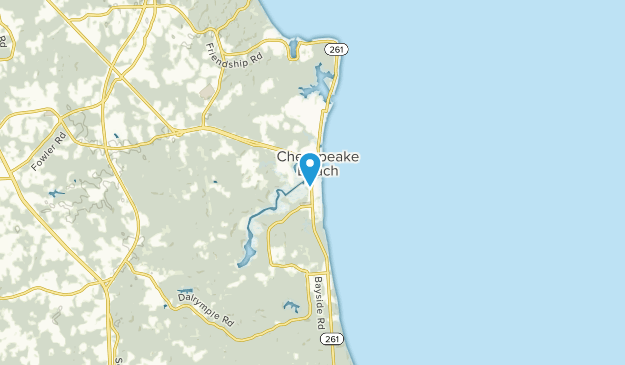 Chesapeake Beach, Maryland Map