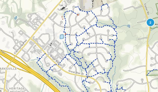 Clarksville, Maryland Map