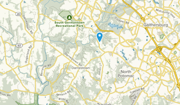 Darnestown, Maryland Map