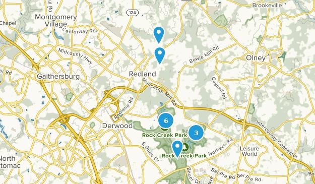 Derwood, Maryland Map
