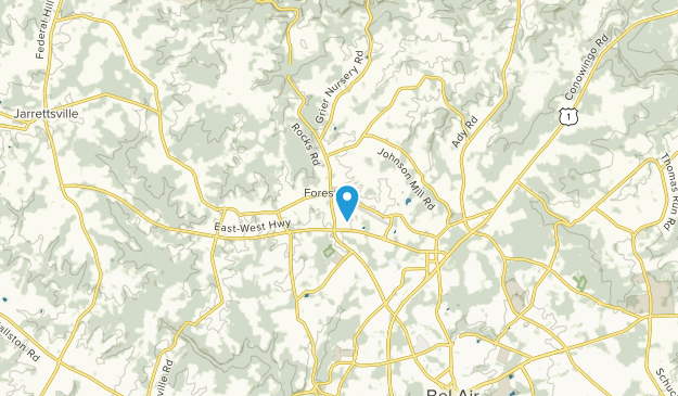 Forest Hill, Maryland Map
