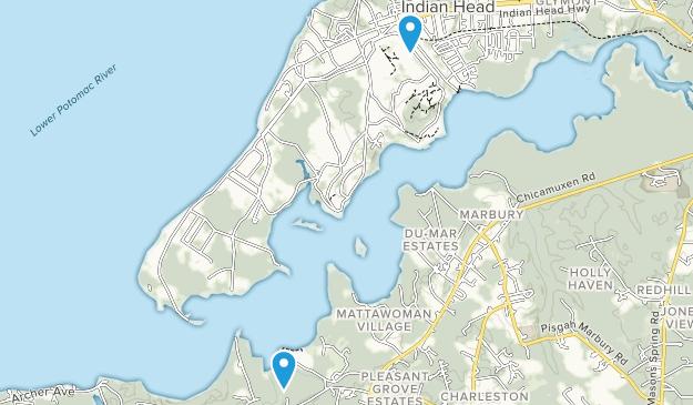 Indian Head, Maryland Map