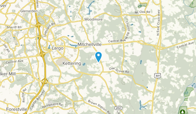 Kettering, Maryland Map