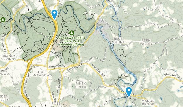 Monkton, Maryland Map