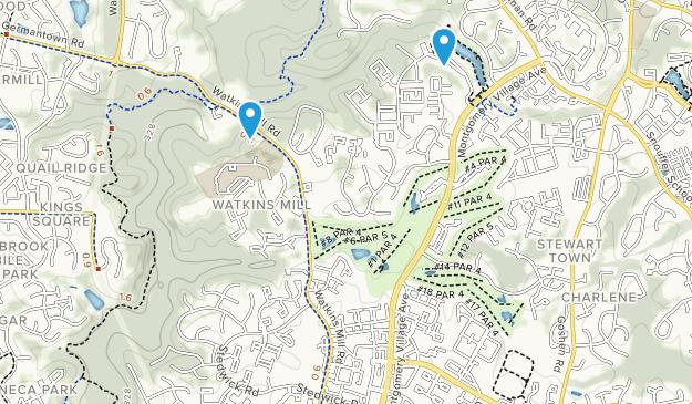 Montgomery Village, Maryland Map