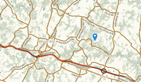 Mt Airy, Maryland Map