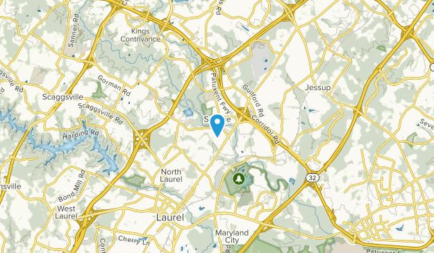 North Laurel, Maryland Map
