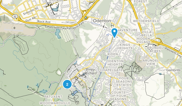 Odenton, Maryland Map