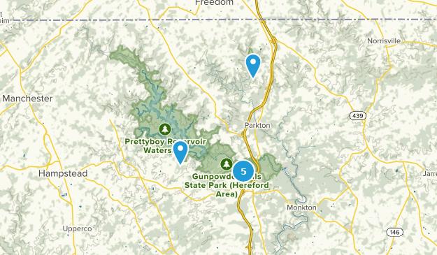 Parkton, Maryland Map