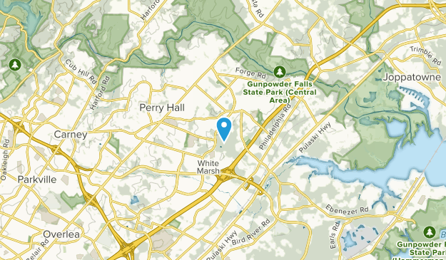 Perry Hall, Maryland Map
